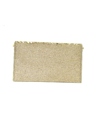 gold polyester quirky clutch - 15335669 - Standard Image - 2