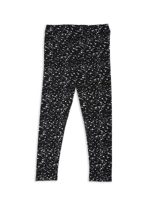 black cotton legging - 15336544 - Standard Image - 2
