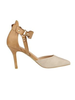 6320f9805 Buy Brown Back Strap Sandal by Allen Solly - Online shopping for Pumps in  India