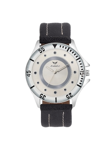 11458280a Buy Armbandsur White Dial Elegant Watch For Boys- Abs0074bwb by ...