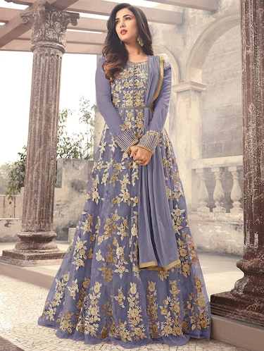 1c0bac78cdd5 Semi-Stitched Suits For Women | Buy Punjabi & Anarkali Semi Stitched Suits  at Limeroad