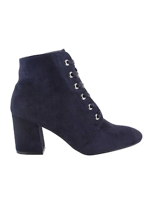 navy ankle  boot - 15339387 - Standard Image - 2