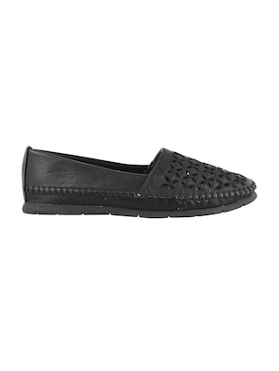 black slip on loafers - 15340045 - Standard Image - 2