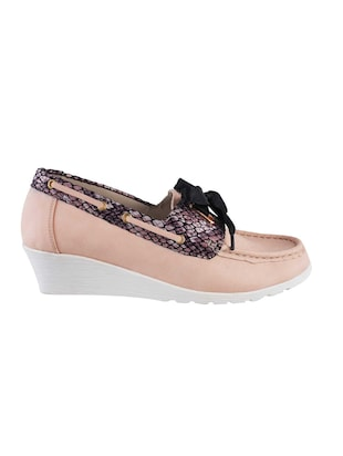 pink slip on loafers - 15340052 - Standard Image - 2