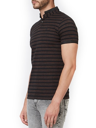 black cotton t-shirt - 15340252 - Standard Image - 2