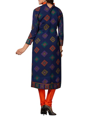 multi colored unstitched combo suit - 15344797 - Standard Image - 5