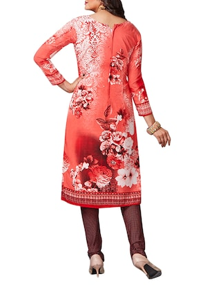multi colored unstitched combo suit - 15344909 - Standard Image - 5