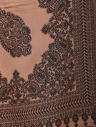 paisley embroidered shawl - 15345223 - Standard Image - 2