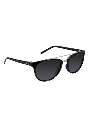 David Blake Black Round Polarised & UV Protected Sunglass - 15347027 - Standard Image - 2
