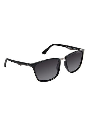 David Blake Grey Wayfarer Gradient, Polarised & UV Protected Sunglass - 15347033 - Standard Image - 2