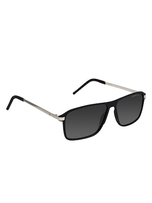 David Blake Grey Wayfarer Gradient, Polarised & UV Protected Sunglass - 15347036 - Standard Image - 2