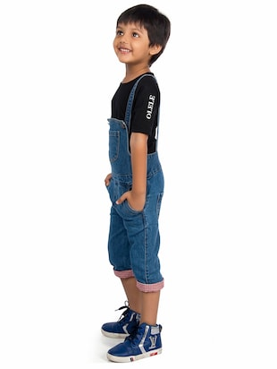 31a7e3affff Buy Blue Denim Dungaree for Women from Olele Kids Clothing for ...