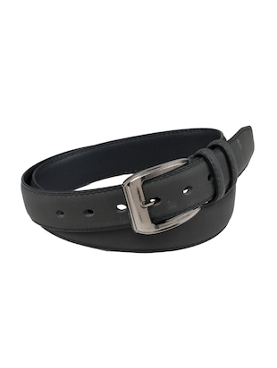 black leatherette belt - 15398234 - Standard Image - 2