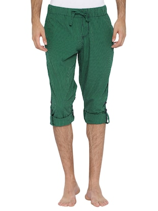 green cotton pyjama - 15402551 - Standard Image - 2