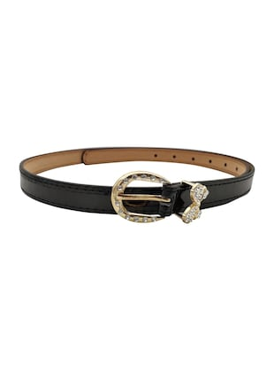 black leatherette (pu belt - 15411522 - Standard Image - 2