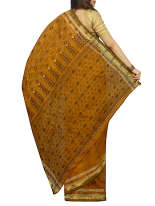 jacquard motif baluchari saree with blouse - 15412288 - Standard Image - 2