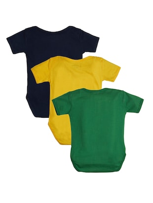 multi colored cotton onesies - 15415142 - Standard Image - 2