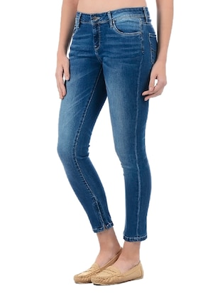 Stone wash skinny jeans - 15415252 - Standard Image - 2