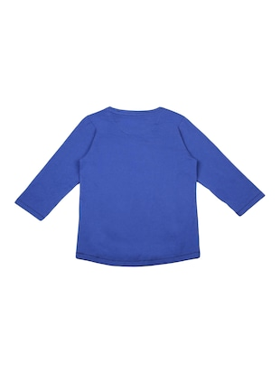 blue cotton  top - 15415532 - Standard Image - 2