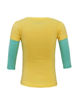 yellow cotton top - 15416865 - Standard Image - 2