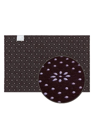 1 Pc Velvet finish Anti skid Doormat - 15417176 - Standard Image - 5