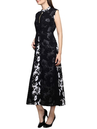 floral layered maxi dress - 15417551 - Standard Image - 2