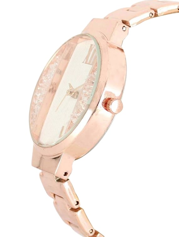 Buy Eddy Hager Rose Gold Dial Women's Watch for Women from Neel
