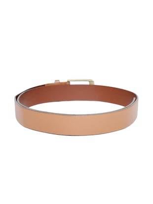 brown synthetic leather) belt - 15417961 - Standard Image - 2