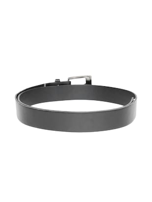 black synthetic leather) belt - 15417963 - Standard Image - 2