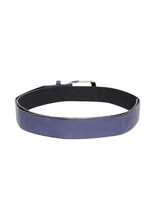 blue synthetic leather) belt - 15417966 - Standard Image - 2