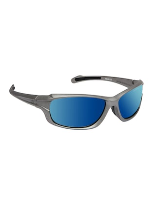 David Blake Green Sport Polarized Uv Protected Mirrored Sunglass - 15418715 - Standard Image - 2