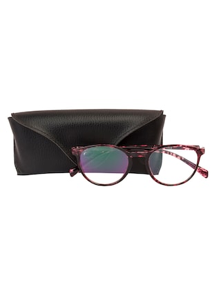 Arzonai Oval Maroon-Transparent UV Protection Eyeglasses [MA-400-S4 ] - 15420527 - Standard Image - 5