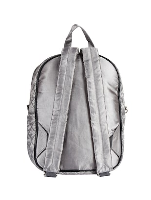 silver satin fashion backpack - 15421037 - Standard Image - 2