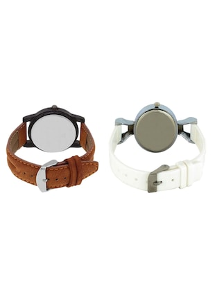 VALENTIME  LR4VT32  leather strap couple watch - 15422392 - Standard Image - 2