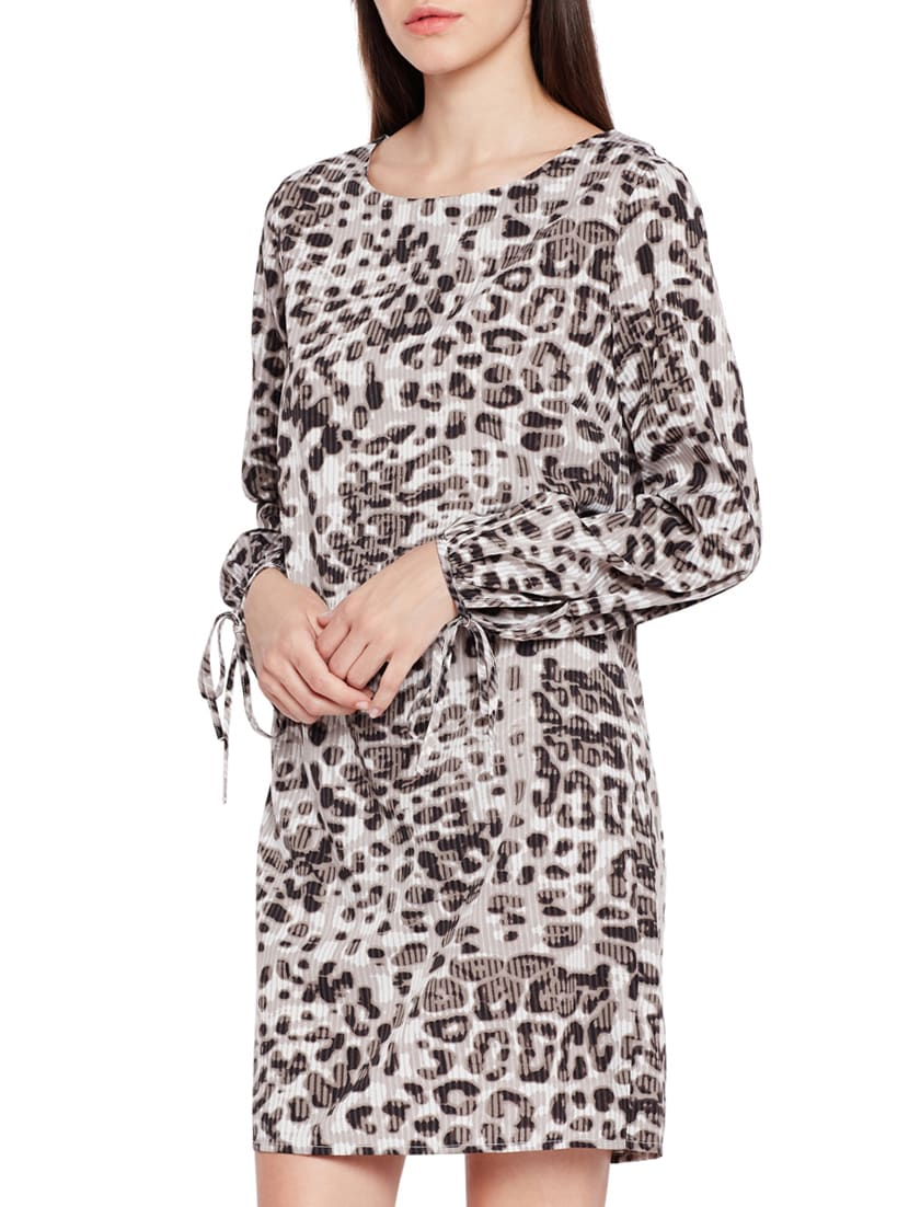 c86aa71b3e Buy Animal Print Shift Dress by Oxolloxo - Online shopping for ...