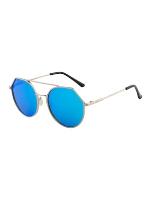 Ted Smith Unisex Aviator Sunglasses (TS-P0849_C5) - 15431495 - Standard Image - 2