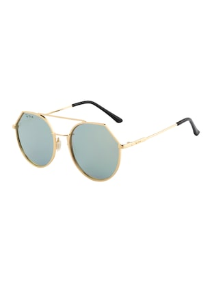 Ted Smith Unisex Aviator Sunglasses (TS-P0849_C8) - 15431498 - Standard Image - 2