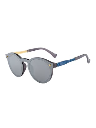 Ted Smith Unisex Round Sunglasses (TS-P0815_C3) - 15431503 - Standard Image - 2