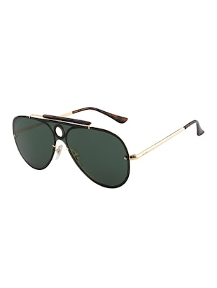 Ted Smith Unisex Aviator Sunglasses (TS-P0938_GRN) - 15431579 - Standard Image - 2