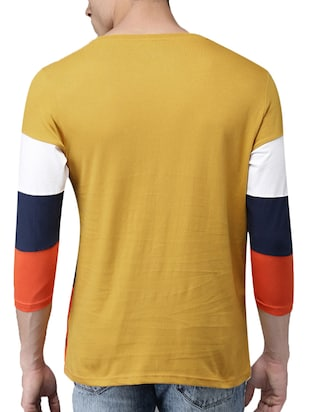 multi colored cotton cut & sew t-shirt - 15454948 - Standard Image - 2