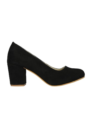 black slip on pumps - 15477248 - Standard Image - 2