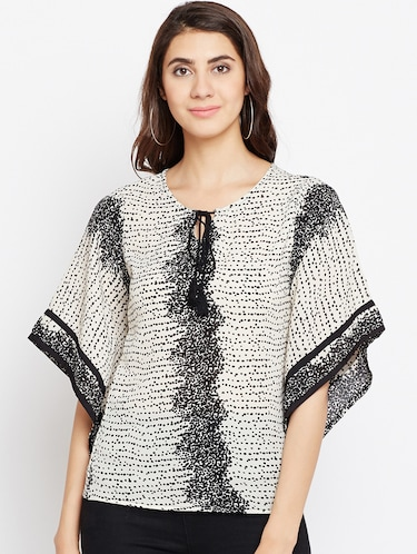 1f9cfce4c Buy cream tops for women western wear in India   Limeroad