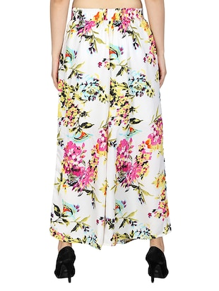 set of 2 printed flared palazzo - 15492089 - Standard Image - 5