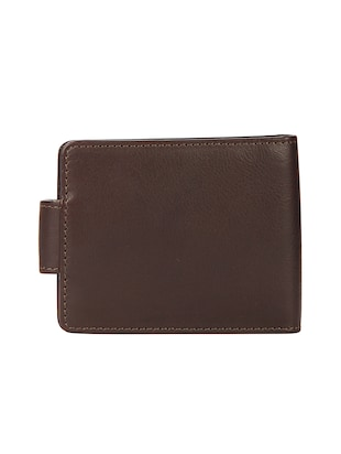 brown leather wallet - 15495224 - Standard Image - 2