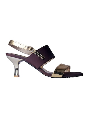 brown back strap sandals - 15498163 - Standard Image - 2