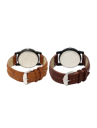 ACNOS Round dial analog watch combo(WAT-LR-01-11-COMBO) - 15500328 - Standard Image - 2