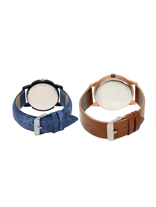 ACNOS Round dial analog watch combo(WAT-LR-02-34-COMBO) - 15500422 - Standard Image - 2