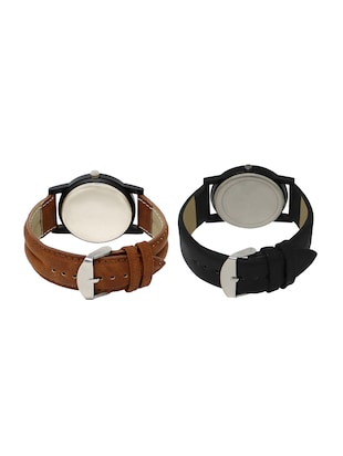 ACNOS Round dial analog watch combo(WAT-LR-04-25-COMBO) - 15500552 - Standard Image - 2