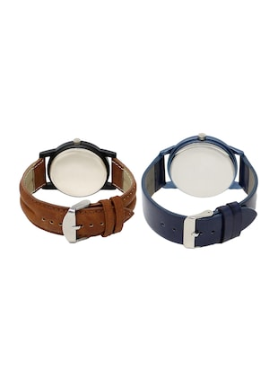 ACNOS Round dial analog watch combo(WAT-LR-04-33-COMBO) - 15500560 - Standard Image - 2