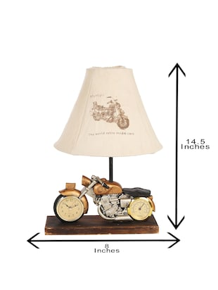 Bike Lovers Table Lamp - 15528609 - Standard Image - 5